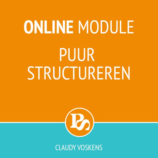 Online module Puur structureren