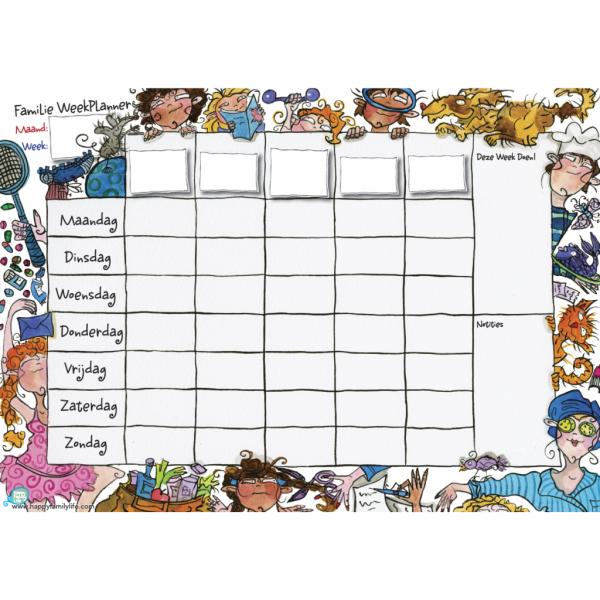 weekplanner